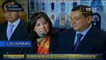 Martha Chávez dice que le 'han pegado un tiro de gracia' al ser desactivado su grupo de trabajo por Comisión de Justicia