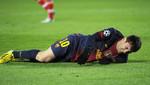 Lionel Messi está decaído, la lesión da cuenta de su estado anímico