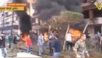 Al menos 22 muertos tras explosiones en la embajada de Irán en Beirut [VIDEO]