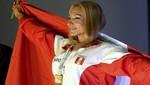 Juegos Bolivarianos 2013: Jessica Baldeón ganó oro en fisiculturismo