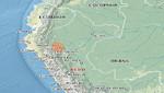Sismo de 4 grados en la escala de Richter se produjo esta madrugada en la región San Martín