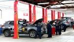 Ministro del Interior presentó taller de mantenimiento para nuevos patrulleros inteligentes