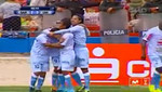Los goles del triunfo del Real Garcilaso ante Universitario en el Estadio Municipal de Espinar en el Cusco