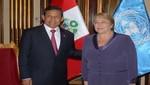 Presidente Ollanta Humala expresa felicitación a Michelle Bachelet