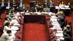 Comisión de presupuesto dictaminará proyecto de ley que atiende deuda social de sentencias judiciales