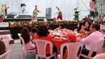 Presidente Humala compartió desayuno navideño con niños del Inabif