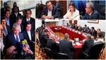 Jefe del Gabinete calificó de fructífero reunión con presidentes regionales ante fallo de La Haya
