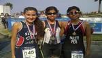 Triatletas peruanos triunfan en Chile