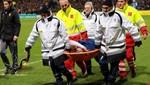 Radamel Falcao sufrió una fuerte lesión de rodilla (VIDEO)