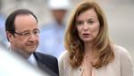 El presidente francés Francois Hollande anunció finalmente su separación de su conviviente