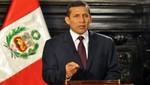 Ollanta Humala: 'La Haya reconoció a Perú espacio marítimo de unos 50 mil kilómetros cuadrados'