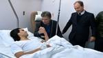 Presidente Santos se declara optimista de la pronta recuperación de Radamel Falcao