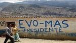 Bolivia:<br /> Bolivia:El MAS, partido a vencer