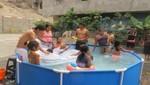 SEDAPAL clausuró conexión clandestina que llenaba 6 piscinas en el Callao