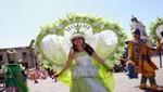Palacio de Gobierno fue escenario de tradicional Fiesta del Carnaval de Cajamarca 2014