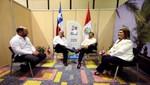 Presidente Ollanta Humala le ratifica con firmeza a Sebastián Piñera que el denominado triángulo terrestre es peruano