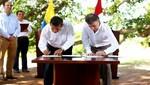 Mandatarios Humala y Santos firmaron importante declaración de integración y cooperación entre Perú y Colombia