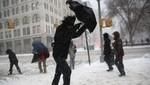 Segunda ola de nieve golpea el noreste de EE.UU.