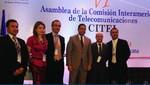 Eligen al Perú para presidir Comité de Telecomunicaciones de la OEA