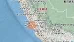 Sismo de 4.1 grados con epicentro en Chilca se produjo esta tarde