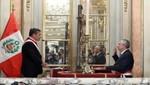 Jefe de Estado tomó juramento al nuevo gabinete ministerial que encabeza René Cornejo