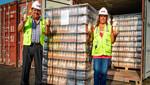 Primer lote de exportación de refrescos de quinua con manzana rumbo a EE.UU.