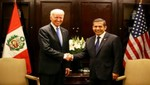 Mandatario sostuvo encuentro con vicepresidente de Estados Unidos, Joe Biden, en Santiago de Chile
