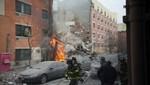 Nueva York: Seis muertos tras una explosión de gas que provocó derrumbe de un edificio