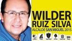 Wilder Ruiz a la alcaldía de San Miguel