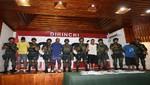 Policía presenta banda de sicarios que detonó una granada para amedrentar a su víctima
