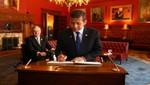 Mandatario sostuvo encuentro con Teniente Gobernador de Ontario