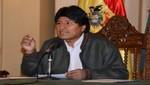 Evo Morales expresa solidaridad con Chile por incendio en Valparaíso
