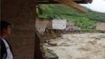 Desborde de Río Amojú deja 15 damnificados y 110 afectadas en Cajamarca