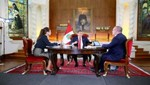 """Presidente Humala: """"Vamos a entrar al VRAEM con una nueva estrategia de la mano con los agricultores"""""""