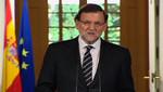 Momento en el que Mariano Rajoy anuncia la abdicación de Juan Carlos I de España