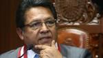 Fiscal de la Nación evalúa que investigación del Caso Áncash se traslade al distrito fiscal de Lima