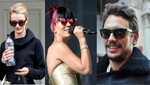 James Franco, Lilly Allen y Rosie Huntington siempre a la moda
