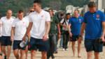 La selección de Holanda ya se encuentra en Brasil y entrena en la playa de Ipanema