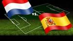 Brasil 2014: España vs Holanda (Países Bajos) [EN VIVO]