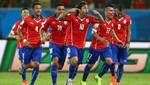 Chile sufriendo derrota a Australia