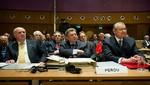 Gobierno da por terminada la tarea de representantes peruanos ante La Haya