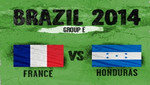 Francia debuta ante Honduras en el Mundial Brasil 2014