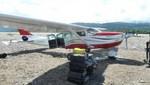 Decomisan avioneta boliviana y decomisan más de 330 kilos de droga en el VRAEM