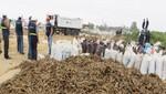 Incautan más de 90 toneladas de pescado que eran secados a la intemperie en Pisco