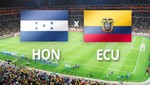 Brasil 2014: Honduras vs. Ecuador [EN VIVO]