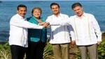 Presidente Humala propone a la Alianza del Pacífico adoptar políticas más audaces para captar nuevas oportunidades