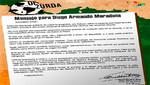Carta de Fidel Castro a Diego Armando Maradona