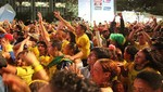 Brasil es una fiesta en los partidos de la Copa