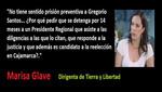 Marisa Glave: Solidaridad con Gregorio Santos