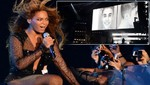 Beyonce muestra ficha policial de Justin Bieber durante un concierto